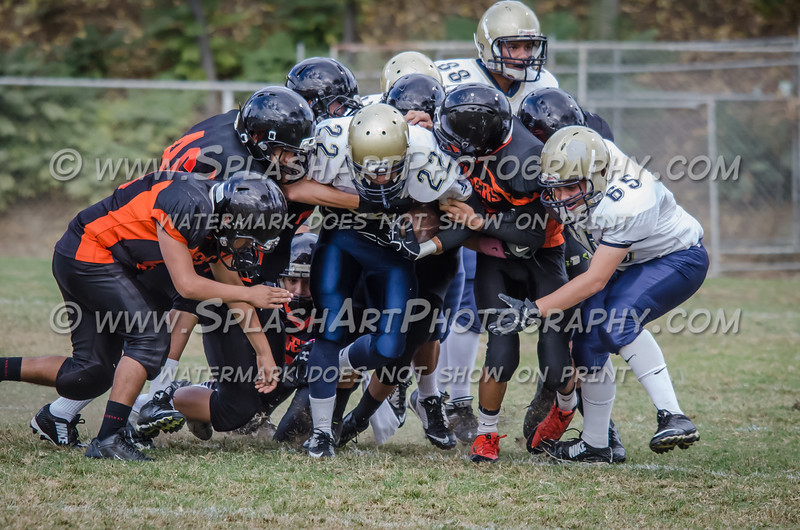 Franklin JV Football vs Lincoln Tigers