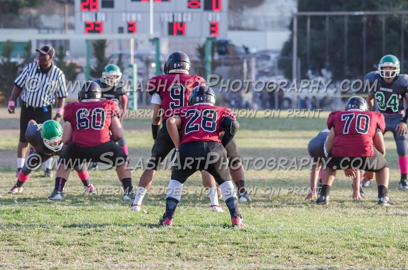 Eagle Rock JV Football vs Sotomayor