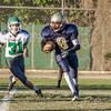 Eagle Rock JV Football vs Franklin Panthers