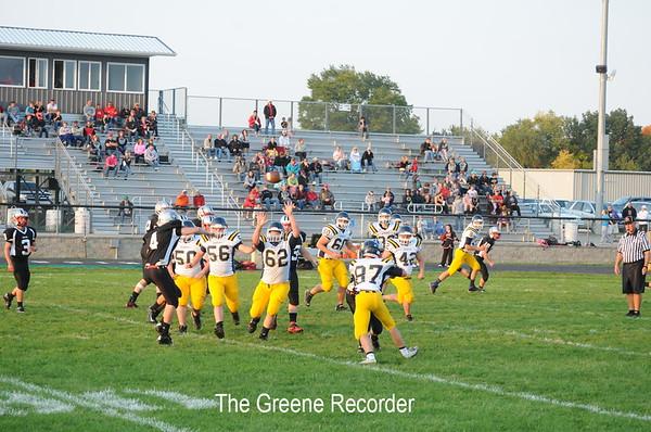 JV Football at N-P