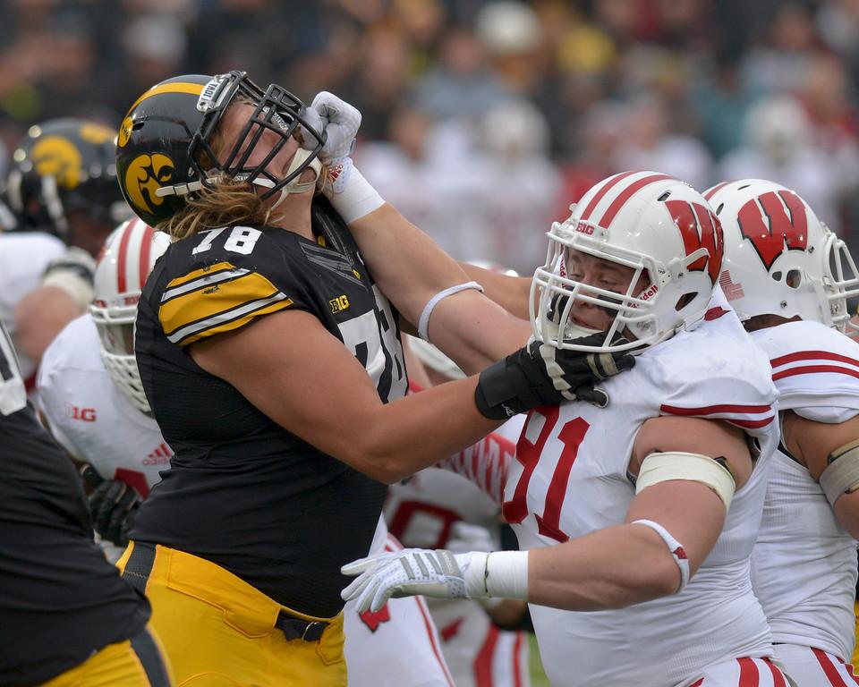 2014 Iowa Football - Wisconsin