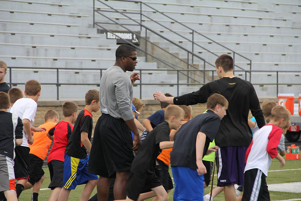 2014 Pointer Pups Football Camp