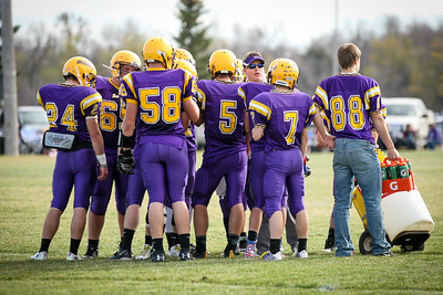 Berthold/Our Redeemers/Lewis & Clark FB vs. South Heart 10-25-14