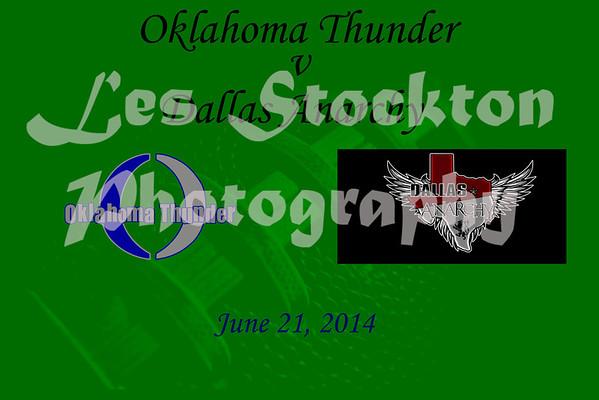2014.06.21 - Oklahoma Thunder v Dallas Anarchy