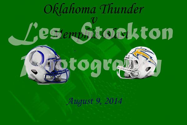 2014.08.09 - Oklahoma Thunder v Memphis Blast