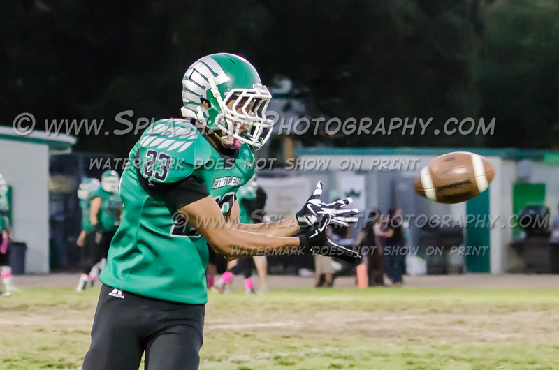 2015 Eagle Rock Football vs Sotomayor Wolves