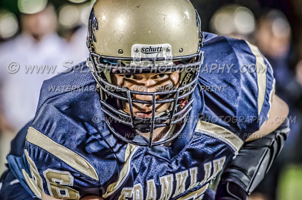2015 Franklin Panthers  Football vs Linclon Tigers