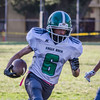 2015 Eagle Rock JV Football vs Lincoln Tigers
