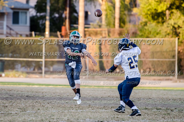 2015 Eagle Rock JV Football vs Wilso Mules