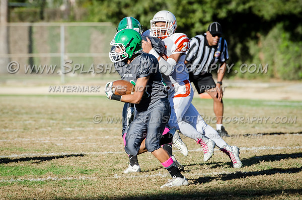 2015 Eagle Rock JV Football vs Huntington Park