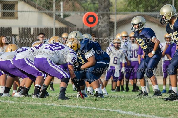 2015 Franklin Panthers JV Football vs Bell Eagles