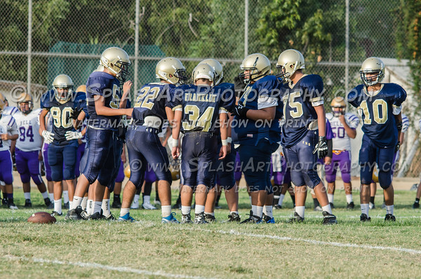 2015 Franklin Panthers JV Football vs Bell Eagles