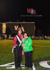 2015 Football, Cheer and Band Senior Night