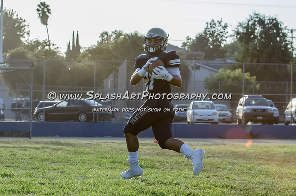 2016 Franklin Panthers Football vs Hollywood Sheiks