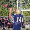 2016 Franklin Panthers Football vs Van Nuys Wolves