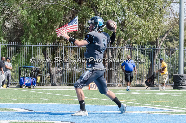 2016 Salesian Mustangs Football vs Verbum Dei Eagles