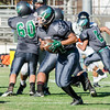 2016 Eagle Rock JV Football vs Lincoln Tigers