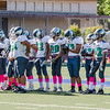 2016 Eagle Rock JV Football vs Marshall Barristers