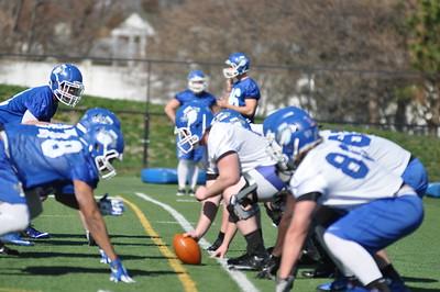 2016 Spring Football, Practice #1