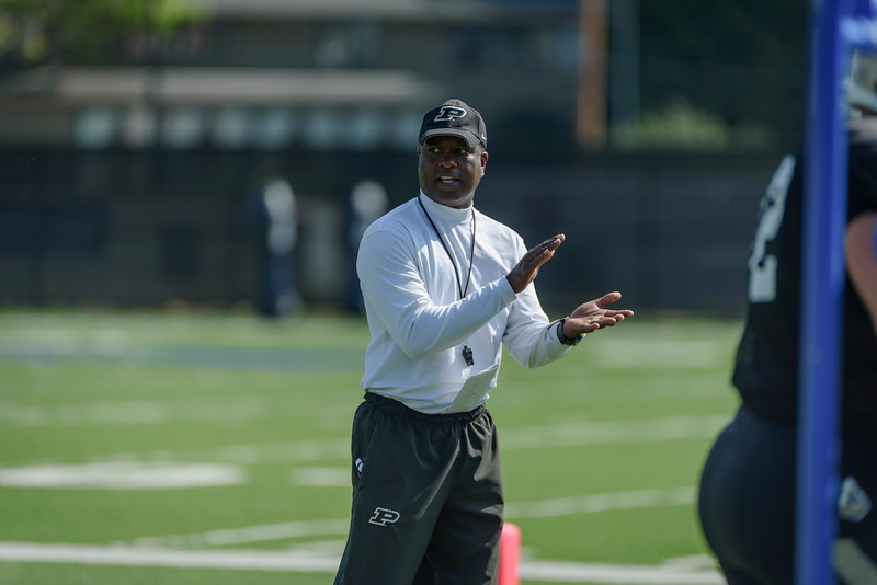 8/10/16 Football Fall Camp, Darrell Hazell