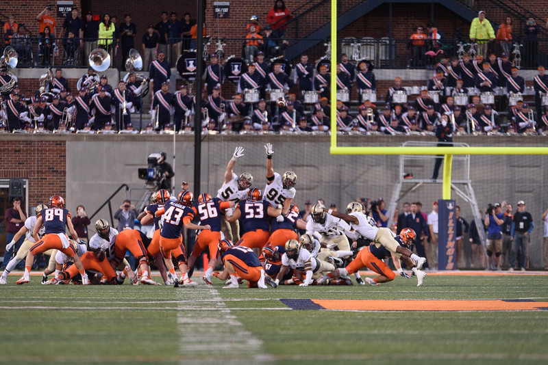 10/8/16 Illinois, Field Goal