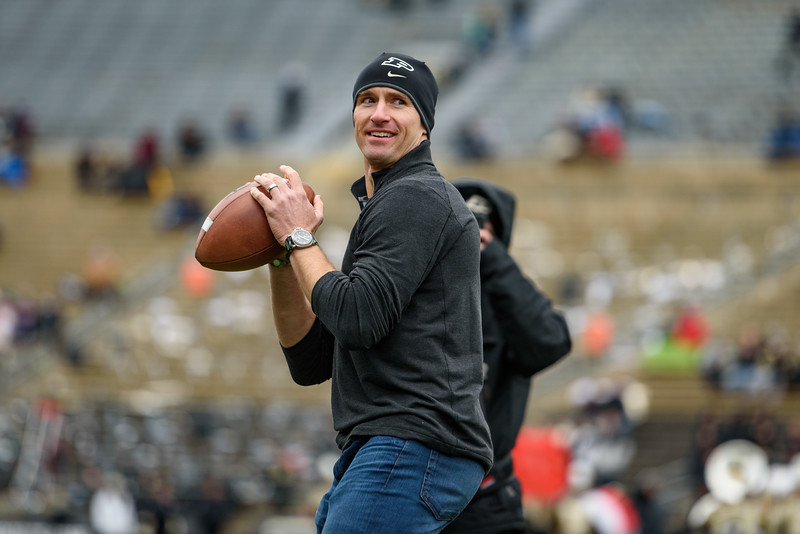 11/19/16 Wisconsin, Drew Brees