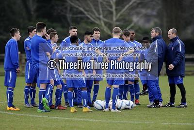 England U18 Boys Training
