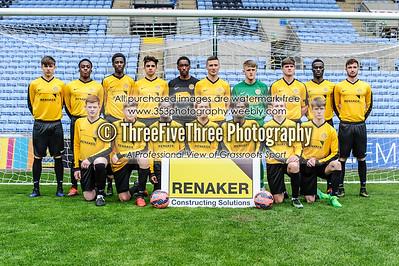 Staffordshire SFA U16 2 Greater Manchester SFA U16 2 (5-4p)