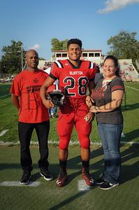 8-25-17 BHS Football Parents Night-28 Kaleb Jefferson