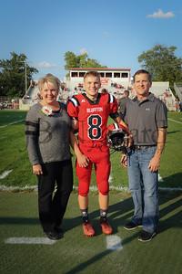 8-25-17 BHS Football Parents Night-8 Logan Rhodes