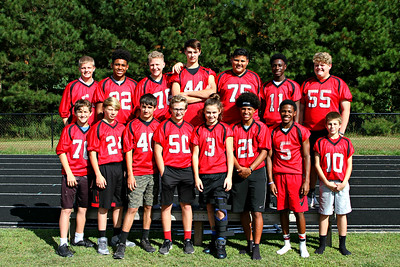 2017 BMS 8th Grade Footbal Pic
