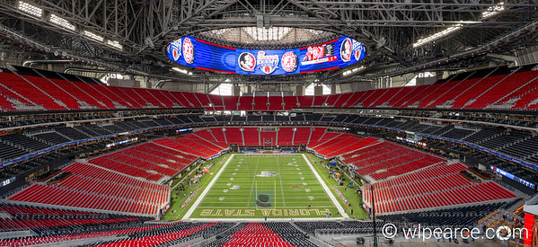 Multi-Frame HDR of the new Mercedes Benz Stadium in Atlanta.