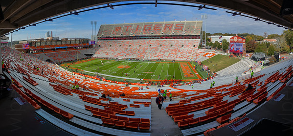 Death Valley from the Press Box.  Clemson University.  Clemson, SC