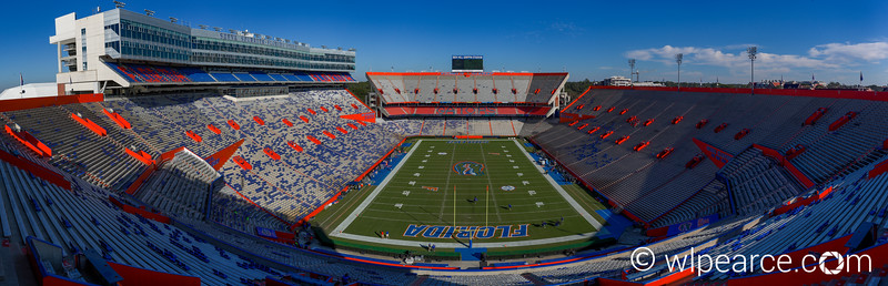 Ben Hill Griffith Stadium... The Swamp.  The University of Florida, Gainesville, FL