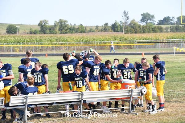 MS Football vs West Fork