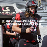 NCAAFOOTBALL:  SEP 30 Marist at Davidson