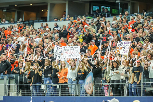 2017 UIL 5A DII State Championship Aledo vs College Station at AT&T Stadium 12/23/2017