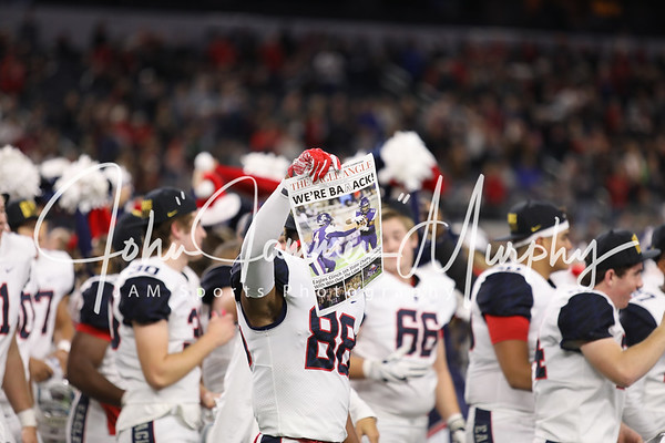2017 UIL 6A DI  State Championship Allen vs Lake Travis at AT&T Stadium 12/23/2017