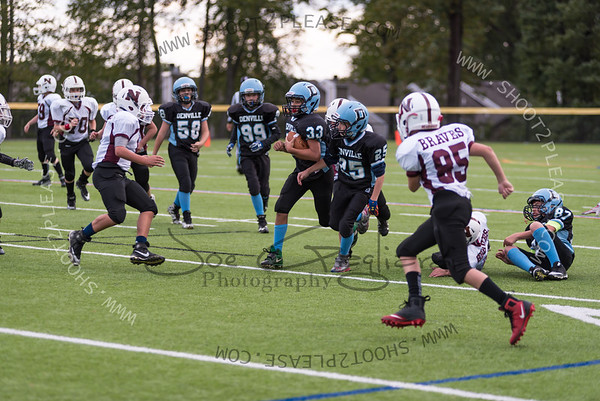 From Peewee_vs_Newton game on Sep 30, 2017 - Joe Gagliardi Photography