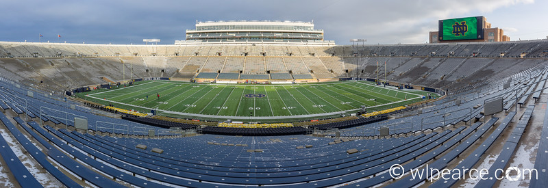 Notre Dame Stadium.  South Bend, IN
