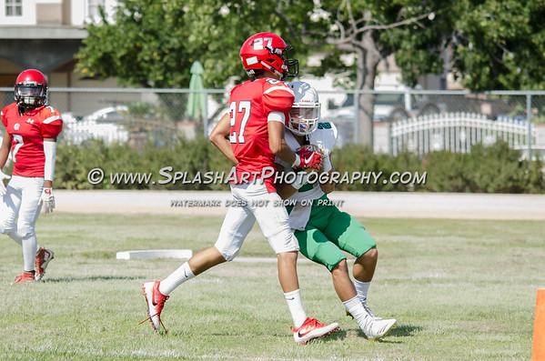 2018 Eagle Rock Football vs Arleta Mustangs