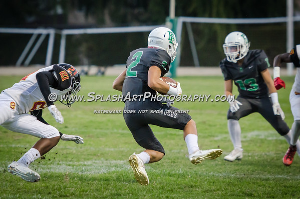 2018 Eagle Rock vs Fairfax Lions football photos