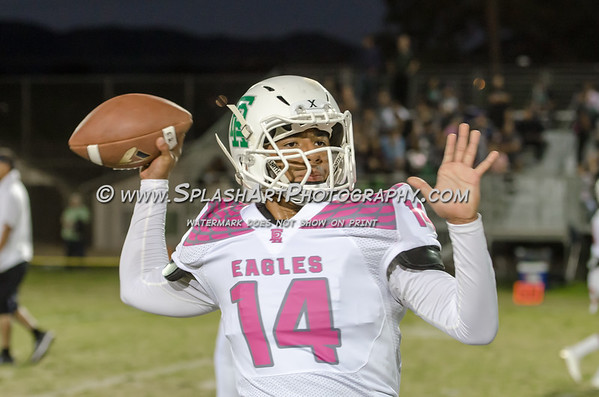 2018 Eagle Rock Football vs Franklin Panthers