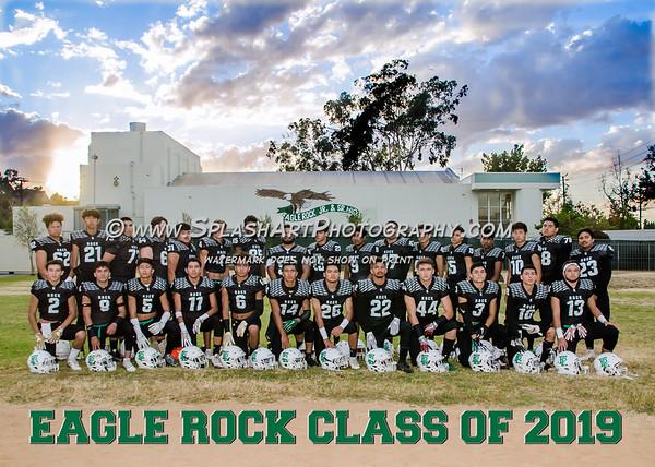 2018 Eagle Rock Football Seniors