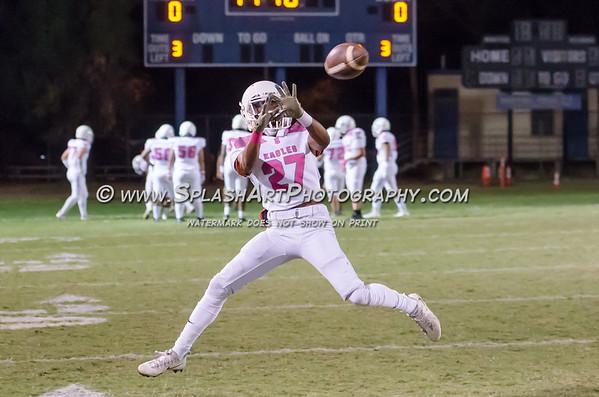 2018 Eagle Rock Football vs Wislon Mules