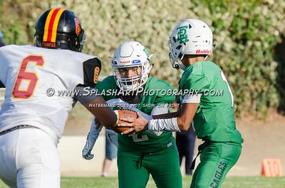 2018 JV Football Eagle Rock vs Fairfax 07Sep2018