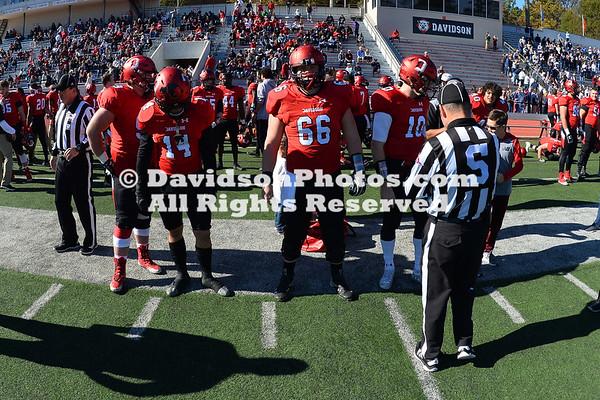 NCAA FOOTBALL:  NOV 17 Butler at Davidson