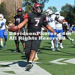 NCAA FOOTBALL:  OCT 13 Morehead State at Davidson