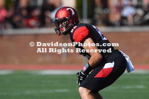 NCAA FOOTBALL:  OCT 13 Morehead State at Davidson
