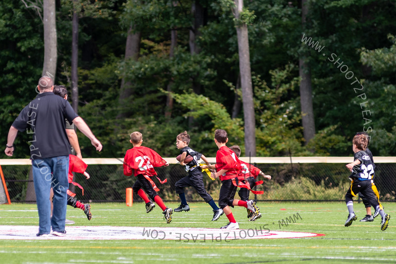 From Blue and Flag vs Hanover game on Sep 22, 2018 - Joe Gagliardi Photography